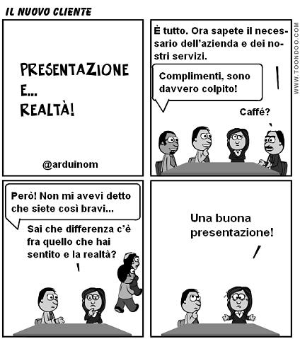 presentazione realta