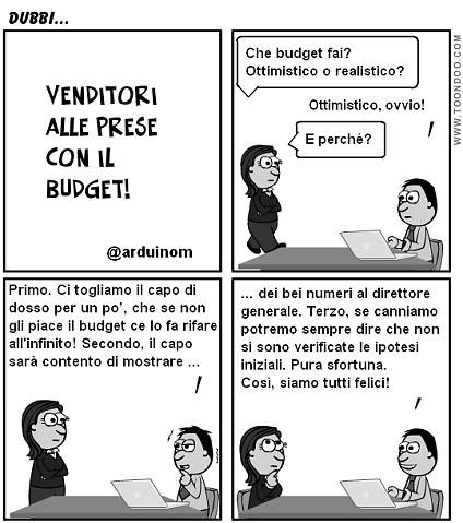 venditori e budget